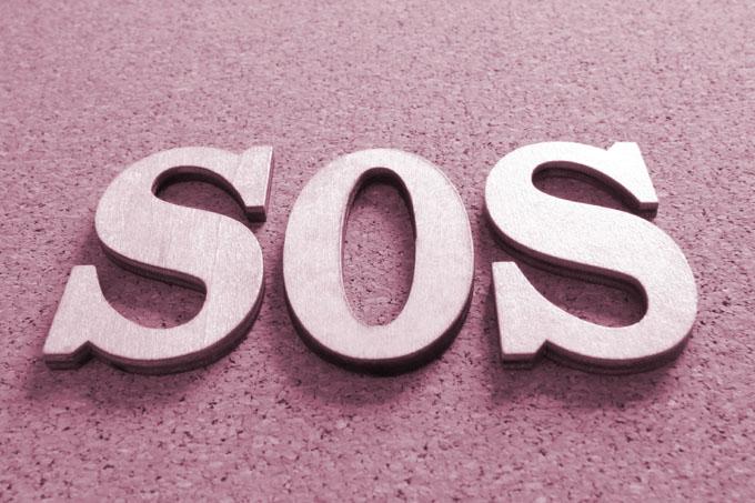 SOSのイメージ写真