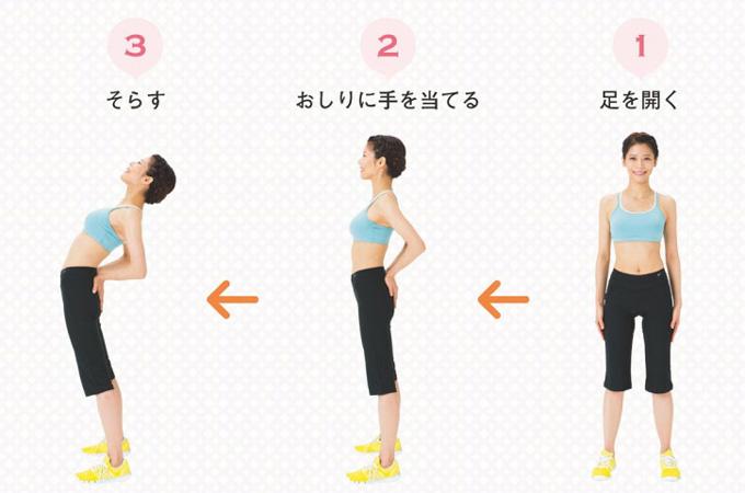 3秒でできる一番簡単な腰痛ストレッチ