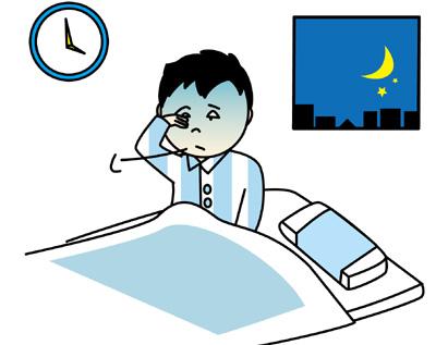 睡眠の乱れ